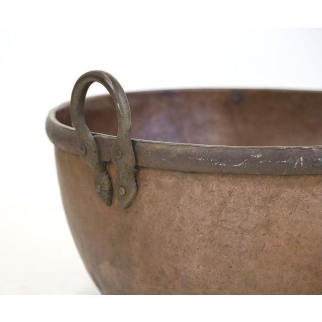 Large Brazilian Copper Pot - Image 3 of 8