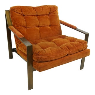 Mid Century Modern Bernhardt Flair Division Lounge Chair