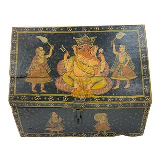 Early 18th Century Indian Marriage Box For Sale