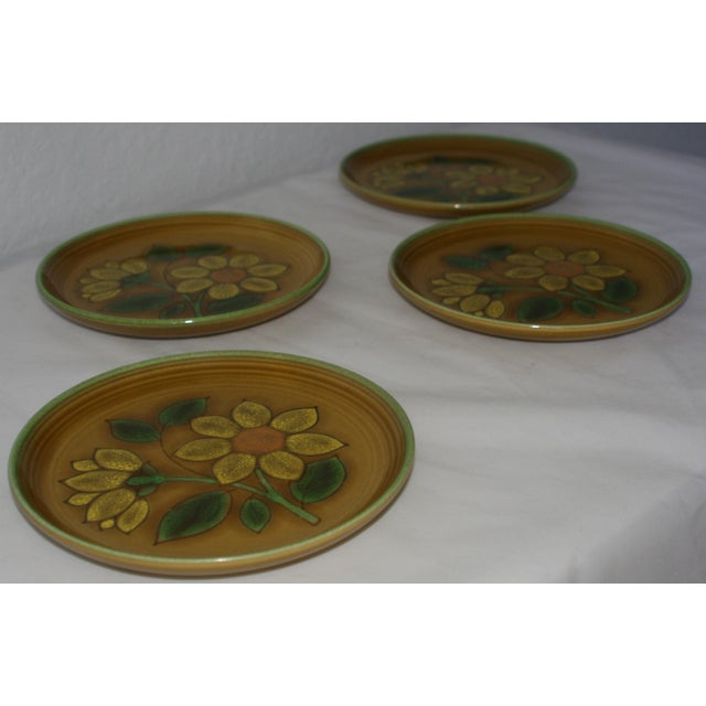 Vintage Metlox Poppytrail California Pottery Luncheon Plates - Set of 4 - Image 7 of 7