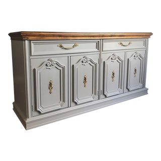 Dove Gray Buffet Sideboard
