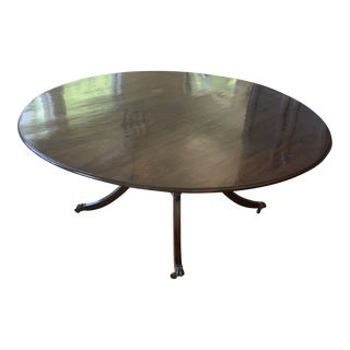 American Walnut Circular Dining Table For Sale