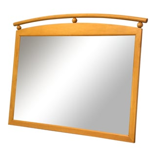 Ethan Allen American Dimensions Maple Mirror For Sale