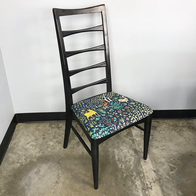 Fabric Mid Century Modern Dining Set by Stanley For Sale - Image 7 of 13