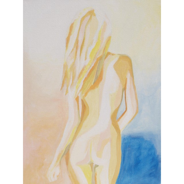 """""""Tequila Sunrise"""" Acrylic Painting - Image 1 of 2"""