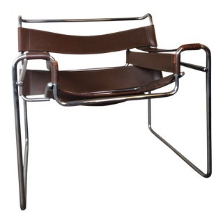 Vintage Mid Century Wassily Chair For Sale
