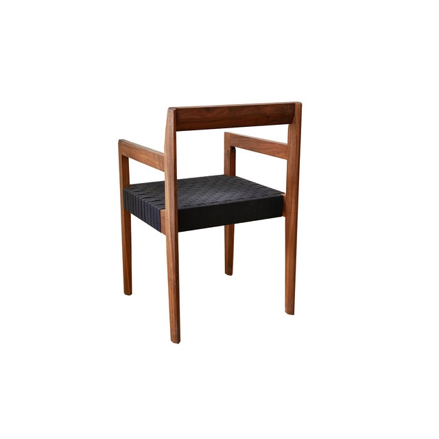 Modern Modern Casey McCafferty Faceted Dining Chair- Floor Sample For Sale - Image 3 of 5