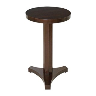 Mahogany Gueridon Drinks Table BK Limited Edition For Sale