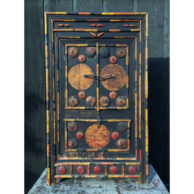 Antique Punjab Dowry Cupboard-Cabinet - Image 2 of 11