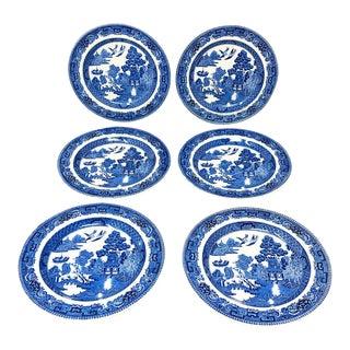 Vintage Wedgwood Bread Plates - Set of 6 For Sale