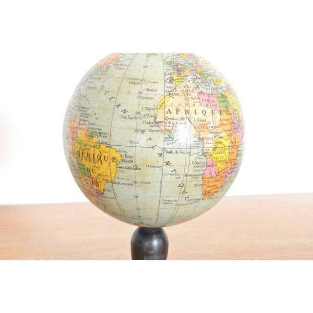 Vintage pocket globe edited by Maison Forest, Paris. c 1930's.