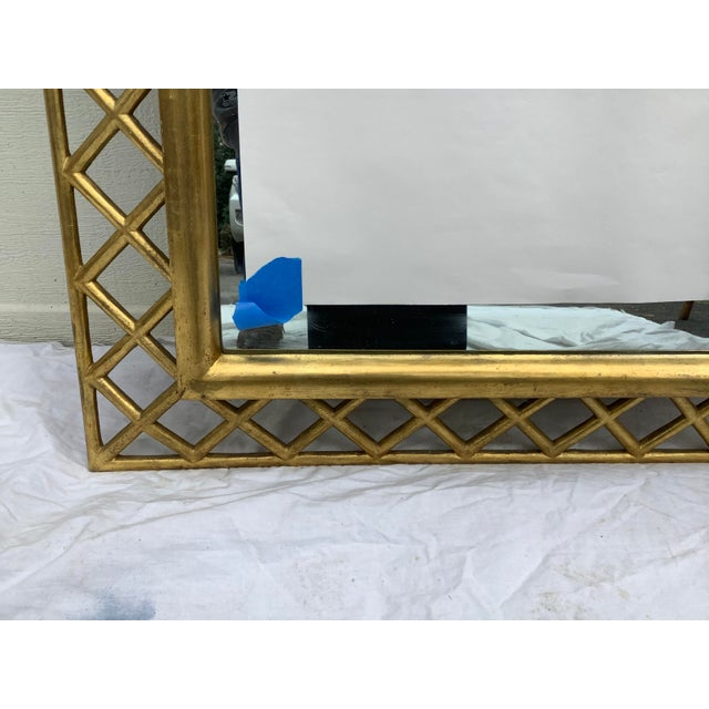 Regency Style Gilt Wood Mirror For Sale - Image 4 of 10