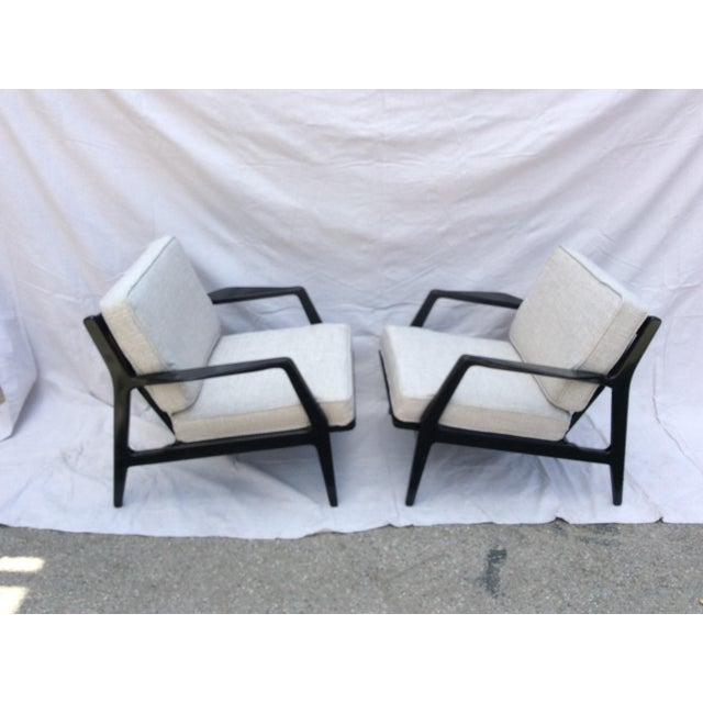Mid-Century Modern Mid Century Side Chairs - a Pair For Sale - Image 3 of 10