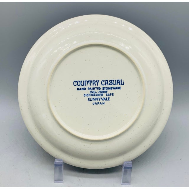 Green Vintage Country Mismatched Salad Plates - Set of 5 For Sale - Image 8 of 12