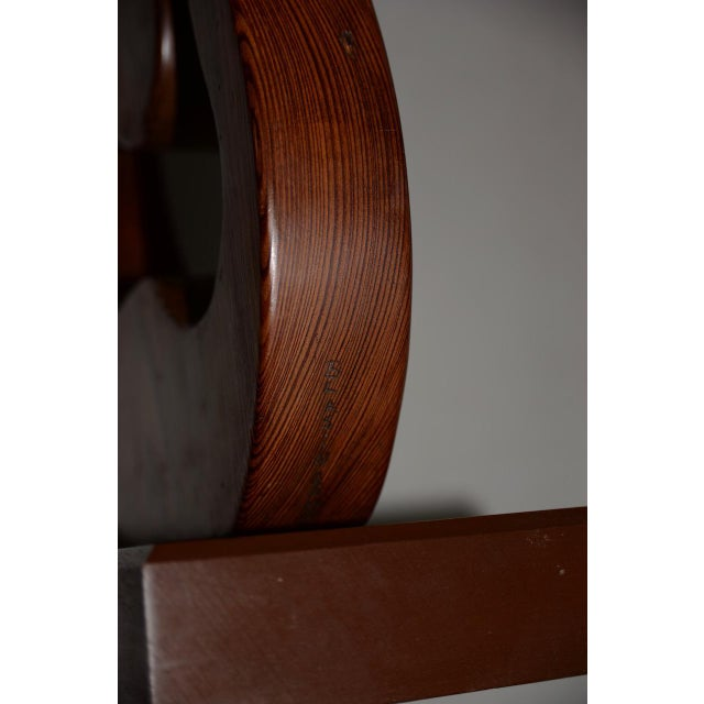 1940s Marguerite Louis Blasingame Abstract Figure Wooden Sculpture C.1940s For Sale - Image 5 of 6