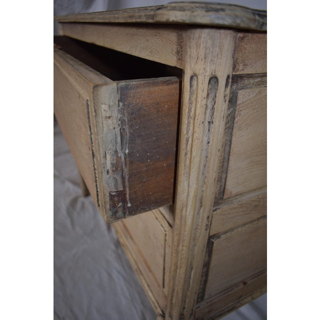 Early 19th Century Early 19th Century French Bleached Directoire Commode, Chest, Side Table For Sale - Image 5 of 6