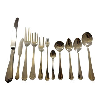 Flemish by Tiffany and Co. Sterling Silver Flatware Set 8 Service - 92 Pcs For Sale