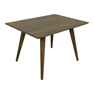 Paul McCobb Maple Side Table in Tobacco For Sale