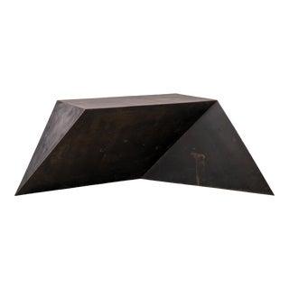 Geometric Brutalist Desk For Sale