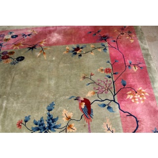 1920s, Handmade Antique Art Deco Chinese Rug 8.10' X 11.4' Preview