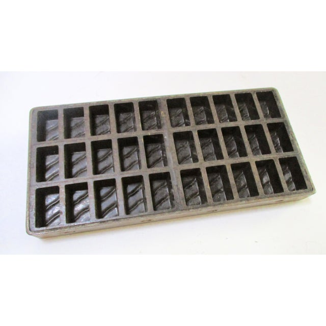 Antique Industrial Chocolate Candy Mold - Image 2 of 10