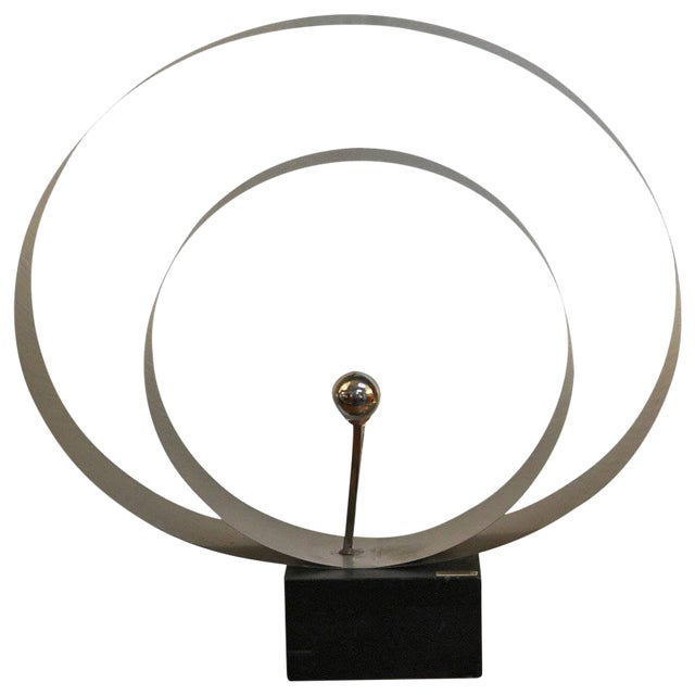 David Wolfe Steel Circular Sculpture For Sale