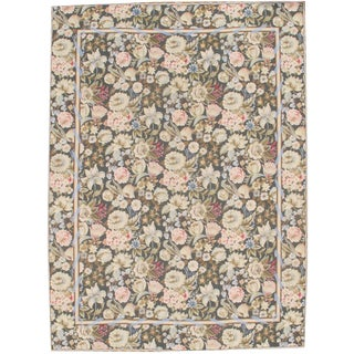 """Pasargad N Y Abusson Flat Weave Rug - 8'9"""" X 12' For Sale"""