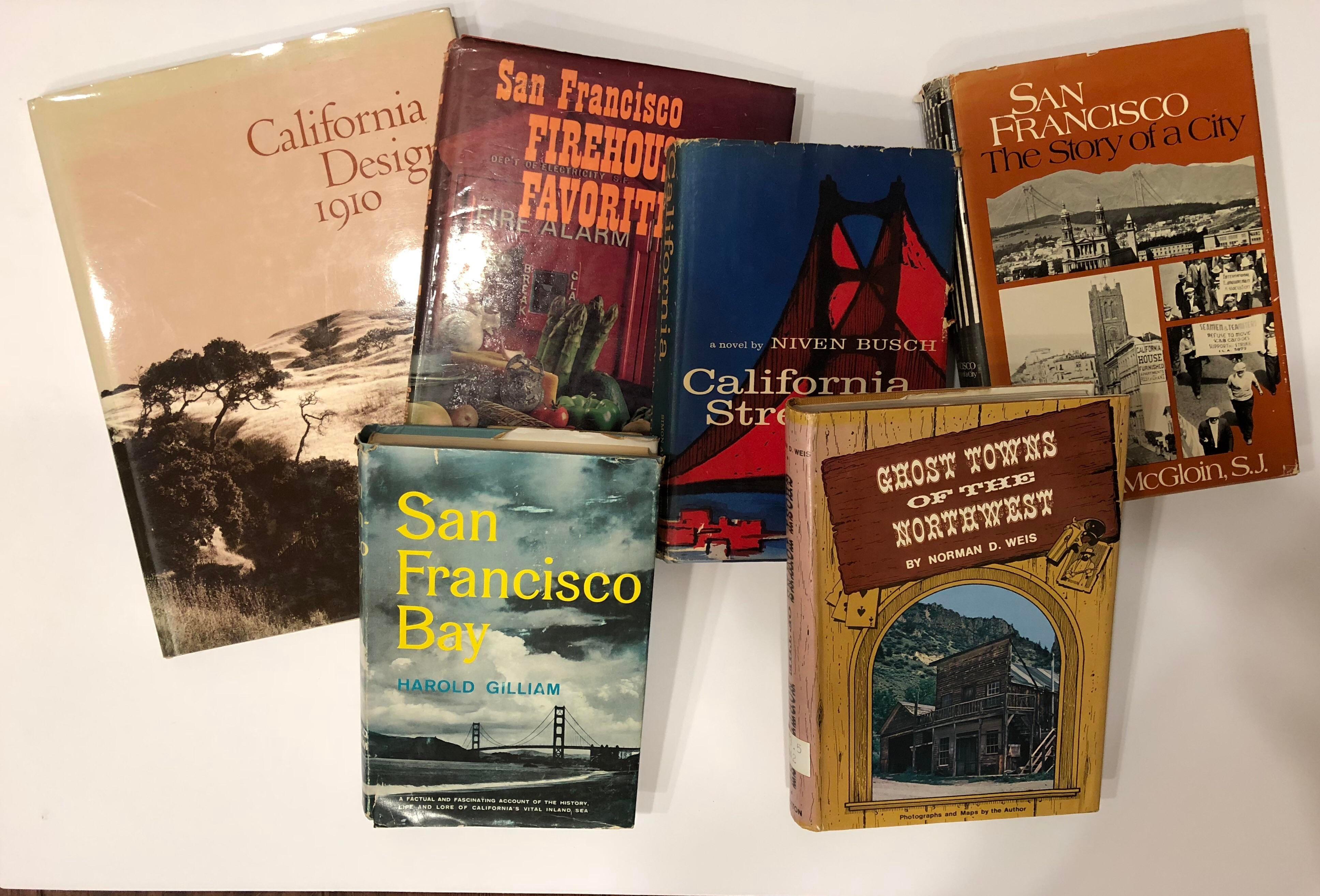 Vintage San Francisco U0026 West Coast History Books   Set Of 6   Image 4 Of