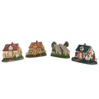 Group of Three* Painted Cast Iron Doorstops For Sale