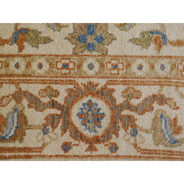 Hand Knotted Chinese Ziegler Rug - 4′ × 6′ For Sale - Image 10 of 10