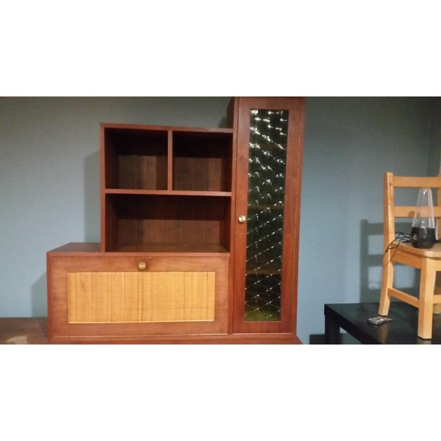 Mid-Century Modern Custom Made Credenza With Hutch - Image 3 of 6