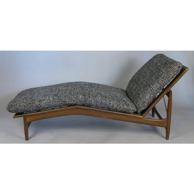 1960s Vintage Danish Adjustable Chaise Lounge by Ib Kofod-Larsen For Sale In New York - Image 6 of 10