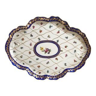Sevres Decorated Serving Platter