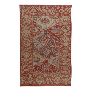"Hand Knotted Oushak Rug - 8'9"" x 12'3"""