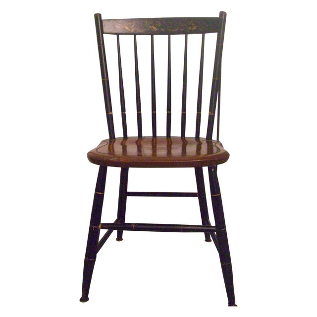 Hitchcock Black Harvest Finish Side Chair - Image 1 of 4