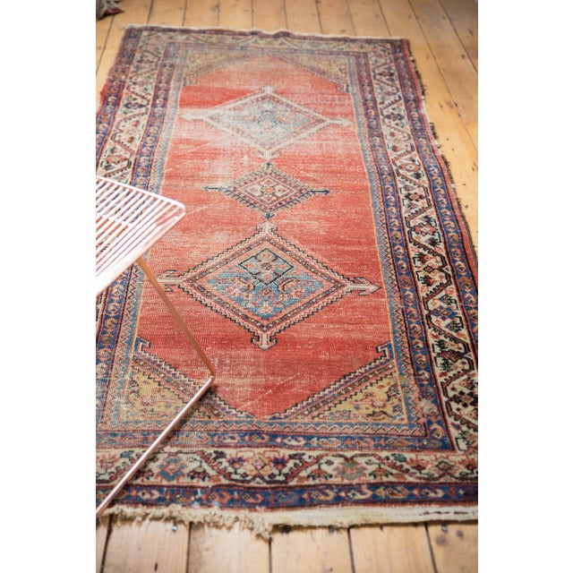 """Antique Malayer Rug Runner - 3'8"""" x 7'6"""" For Sale - Image 12 of 13"""