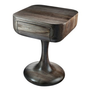 Sculptural Nightstand For Sale