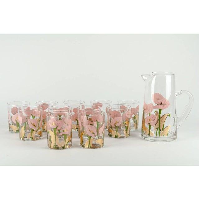 Vintage Martini Cocktail Glassware - Set of 11 For Sale - Image 4 of 13