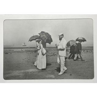 1970s Vintage Jaques Henri Lartigue Silver Gelation Black & White Photograph For Sale