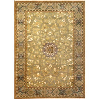 Pasargad Hand-Knotted Tabriz Rug - 5′ × 7' For Sale
