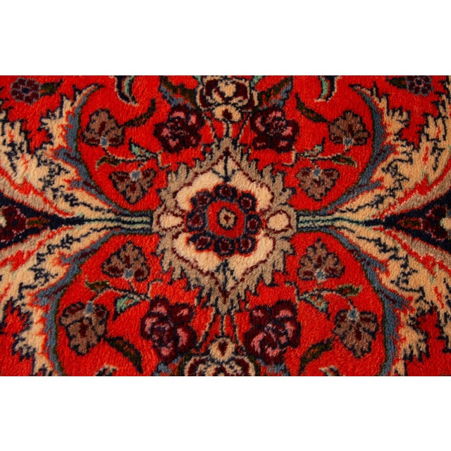 "Textile Antique Heriz Runner Rug, 2'8"" X 11' For Sale - Image 7 of 8"
