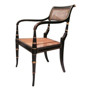 Early 19th Century English Regency Period Armchair For Sale