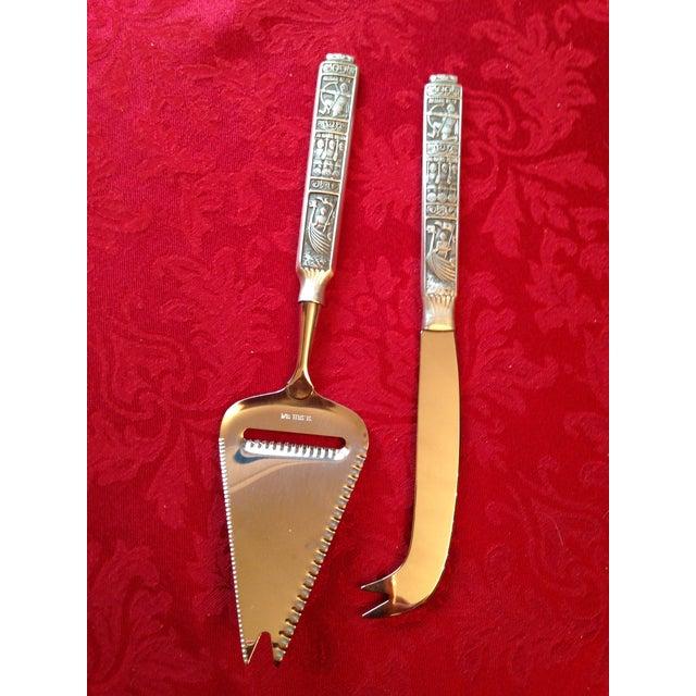 Kongetinn Royal Pewter Cheese Set - Image 5 of 10