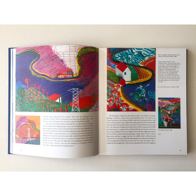"""Contemporary David Hockney """" That's the Way I See It """" Vintage 1993 First Edition Hardcover Pop Art Book For Sale - Image 3 of 13"""