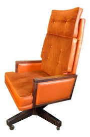 Image of Burnt Orange Office Chairs