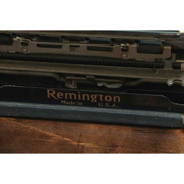 Remington Portable Model 5 Typewriter With Case - Image 6 of 7