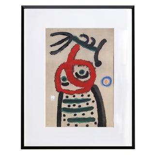 """""""Cartones 22: Femme Et Oiseau"""" For Sale"""
