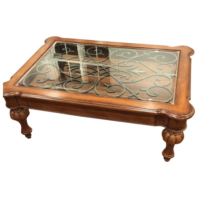 All Ethan Allen Coffee Tables: Ethan Allen Tuscan Coffee Table