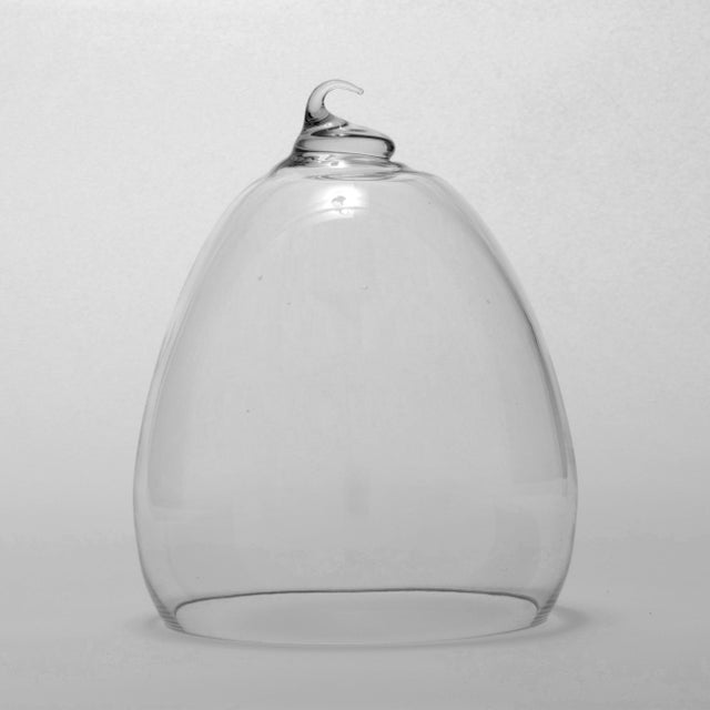 Abstract Belle Du Jaar Collection Opus Glass Cloche Chairish