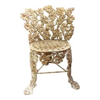 Antique Cast Iron Garden Chair